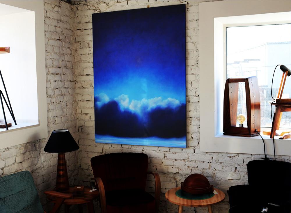 Slike akademske slikarke Mine Glogovac u Shamliza.